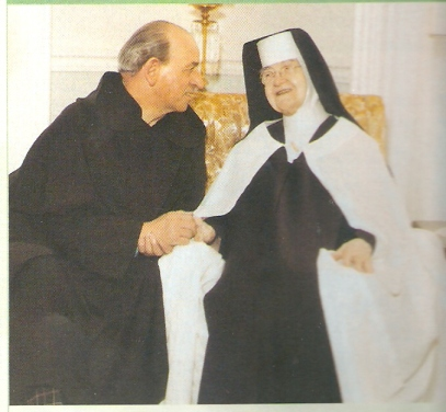 Mother Angeline Teresa had a special love for priests